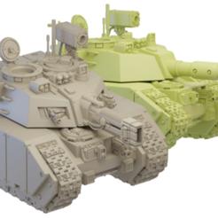 Descargar modelos 3D gratis Torreta del tanque de rapiña, paquete 1, Xplosiv