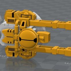 Descargar modelo 3D gratis Pistolas de doble enlace para la onda expansiva comunista del espacio, Xplosiv