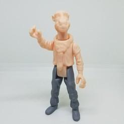 Télécharger objet 3D Star Wars .stl YAK FACE .3D figurine.OBJ Kenner style., Tasjo78
