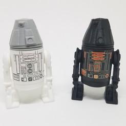 Descargar modelos 3D Star Wars .stl R4 droid .3D action figure .OBJ Kenner style., Tasjo78