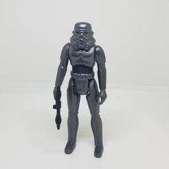 Télécharger fichier STL Star-Wars trooper Kenner Style Action figure STL OBJ 3D, Tasjo78