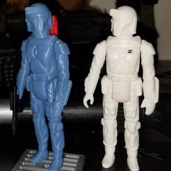 Télécharger fichier 3D Star-Wars BobaFett Kenner Style Vintage 3D STL OBJ, Tasjo78