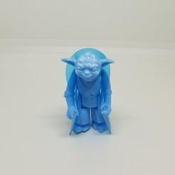Télécharger fichier 3D Star Wars .stl Master Yoda .3D figurine .OBJ Kenner style., Tasjo78