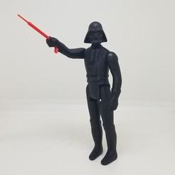 Télécharger fichier imprimante 3D Star-Wars Dark Vader Kenner Style Action figure STL OBJ 3D, Tasjo78