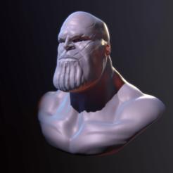 Impresiones 3D Thanos Bust, tomalda