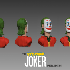 Download free 3D printer designs The Woody Joker: Special Edition, tomalda