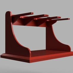 Epoxy_Rack_(Selleys)_2020-Aug-27_01-54-59AM-000_CustomizedView19206531484_jpg.jpg Download STL file Epoxy Rack • 3D print template, beanhole