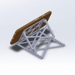 dfbny.png Télécharger fichier STL pied de téléphone • Objet pour imprimante 3D, le-padre