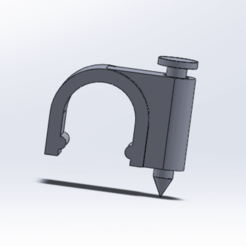 Download free STL file power cable clamp • Design to 3D print, le-padre