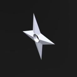 Descargar modelos 3D gratis shuriken naruto, le-padre