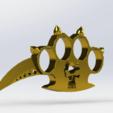 dvtjh.png Télécharger fichier STL poing Américain   • Objet pour imprimante 3D, le-padre