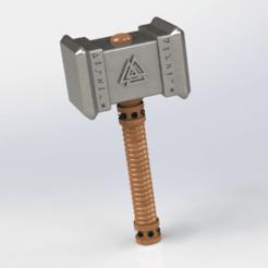 fswdxcv.png Télécharger fichier STL gratuit marteaux de thor  • Objet pour imprimante 3D, le-padre