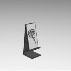 Descargar Modelos 3D para imprimir gratis base telefónica (rosa), le-padre