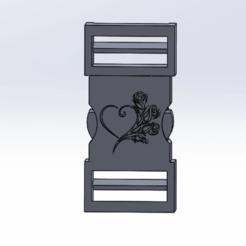 dfbykigi.png Télécharger fichier STL clip attache coeur • Modèle pour impression 3D, le-padre