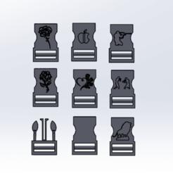 sdhvcs.png Télécharger fichier STL 7 clip attache fonctionnel • Plan pour impression 3D, le-padre