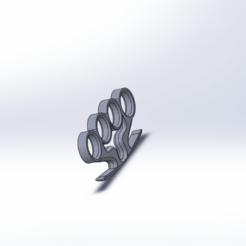 Impresiones 3D gratis puño americano, le-padre