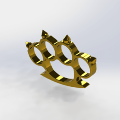 Download free 3D printing templates knuckles, le-padre