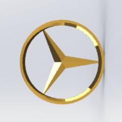 dg wd.png Télécharger fichier STL gratuit porte clés logo mercedes  • Modèle pour imprimante 3D, le-padre