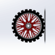 Télécharger modèle 3D gratuit roue moto cross port clef , le-padre