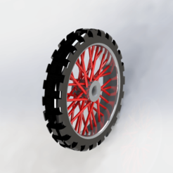 Download free 3D print files motorcycle cross wheel key port, le-padre
