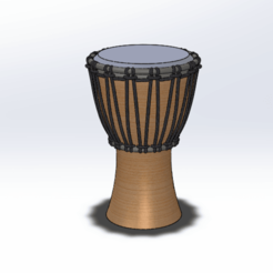 fxtghxfg.png Télécharger fichier STL djembé  • Objet imprimable en 3D, le-padre