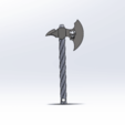 sdrhg.png Télécharger fichier STL gratuit Hache porte clés  • Modèle pour imprimante 3D, le-padre