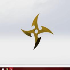 Download free STL file shuriken, le-padre