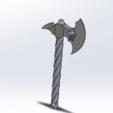 rdg drg.png Télécharger fichier STL gratuit Hache porte clés  • Modèle pour imprimante 3D, le-padre