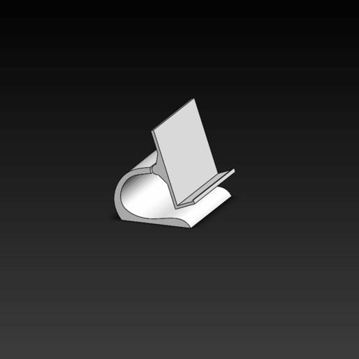 Télécharger fichier impression 3D gratuit pied de téléphone pour lire , le-padre