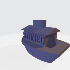 Download 3D printer designs stoned boat ashtray boat ashtray boat, joelmorcu