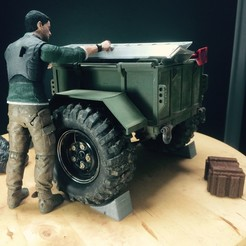 Download 3D printing designs RC 1/10 Trailer Trial Scale Off-Road, fredduck