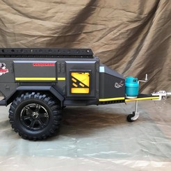 IMG_2284.JPG Download STL file RC 1/10 Trailer Scale Conqueror UEV310 Off-Road • Design to 3D print, FredRcScale