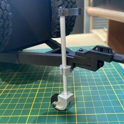 BC9AA84A-D72F-47E6-A987-D1411651D5A2.jpeg Download STL file RC 1/10 SCALE wheel Jockey wheel trailers/caravan/jockey wheel trailers • 3D printer model, FredRcScale