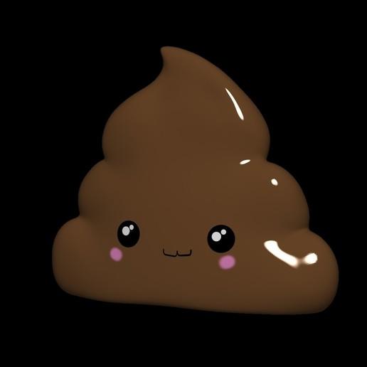 Download free STL file Caca - emoji - shit - popo, Paola23