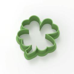 untitled.182.png Télécharger fichier STL Trèfle à 4 feuilles • Plan pour impression 3D, emilianobene94