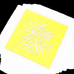 untitled.184.png Télécharger fichier STL pochoir fleur feuille fleur • Design imprimable en 3D, emilianobene94