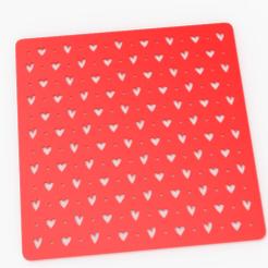 untitled.124.png Télécharger fichier STL cœurs pochoir cachet cœurs • Design imprimable en 3D, emilianobene94