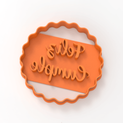 untitled.171.png Download STL file happy cutting birthday • 3D printer template, emilianobene94
