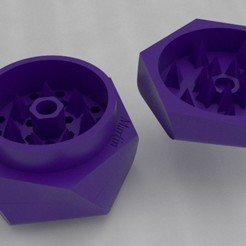 Download free 3D printer designs Tri-Grinder - triple marijuana grinder, Franco23