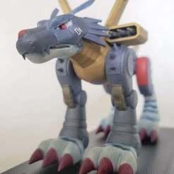 20201015_131500.jpg Télécharger fichier STL gratuit Digimon - Metalgarurumon • Design à imprimer en 3D, Erivelton