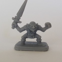 Descargar modelos 3D gratis HeroQuest - Espada corta de duende, Erivelton