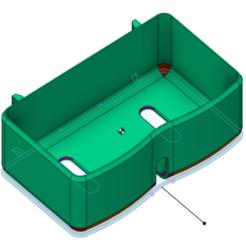 prateleira_frigobar_v1.png Download free STL file Prateleira Frigobar Consul CRC12 • Model to 3D print, Erivelton
