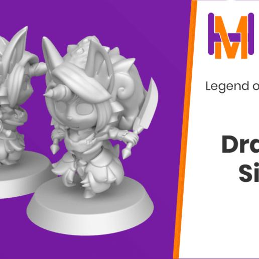 Download free STL file Chibi Sierra | Legend of Mana • 3D printing model, HyperMiniatures