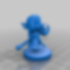 Download free STL file Warrior's Daughter Amelia • 3D print design, HyperMiniatures