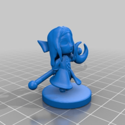 Download free STL file Warrior's Daughter Amelia • 3D print design, HyperMiniatures