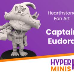 Chibi_Captain_Eudora.png Download free STL file Chibi Captain Eudora | Hearthstone Fan Art • 3D printer object, HyperMiniatures