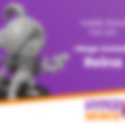 Download free STL Chibi Reina | Staff Variant, HyperMiniatures