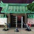Gate 3-100.jpg Download STL file Modular Magnetic Japanese Gate • 3D print model, HyperMiniatures