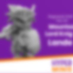 Download free 3D printer templates Chibi Lord Knight Lander | Ragnarok Online Fan Art, HyperMiniatures