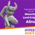 Chibi_Mounted_Lord_Knight_Alina.png Download free STL file Chibi Mounted Lord Knight Alina • 3D printable object, HyperMiniatures